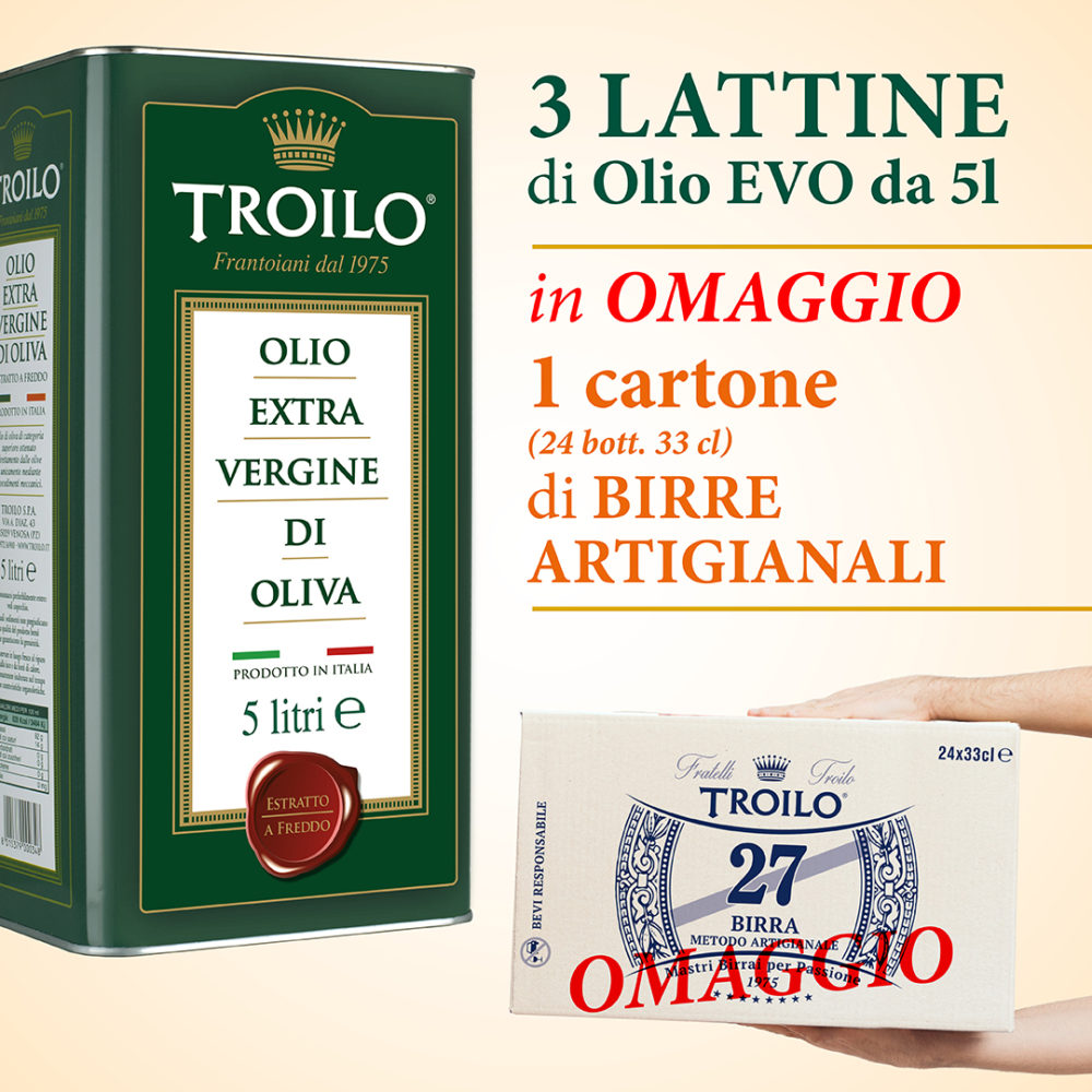 Offerta Olio Italiano Sud (Basilicata)
