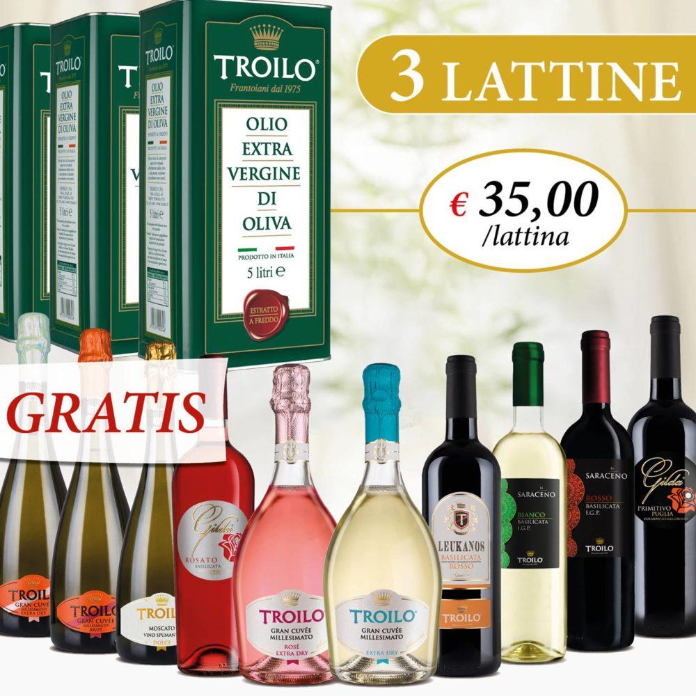 Promo Olio + 6 vini omaggio